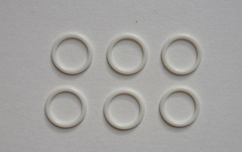 0,5m Haken-und Augenband weiß; Augenband 3fach verstellbar 15,00€//m