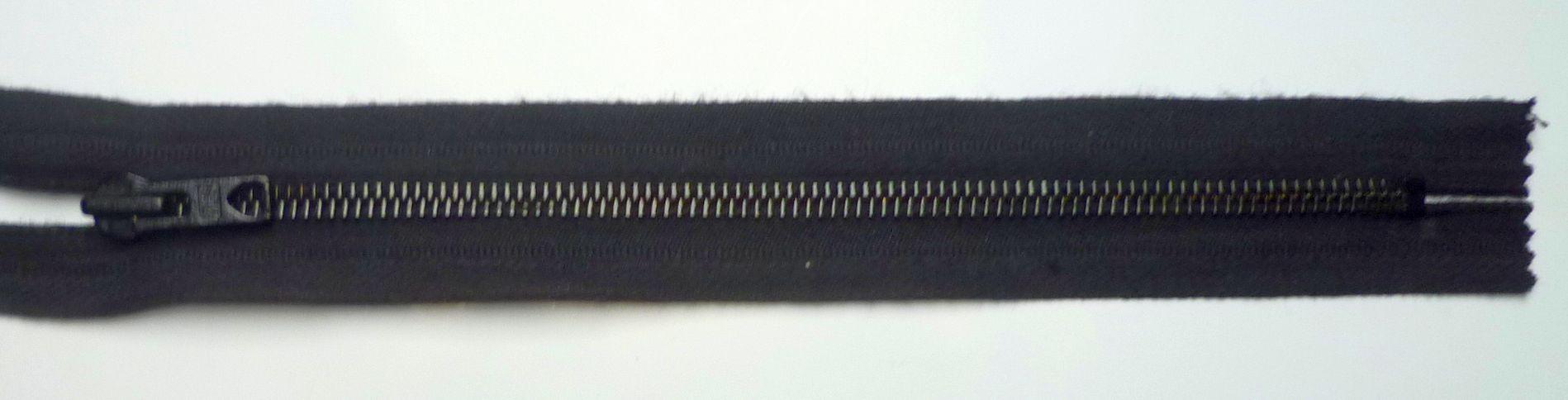 Reißverschluss Metall teilbar Ringgriff 72 cm terracotta
